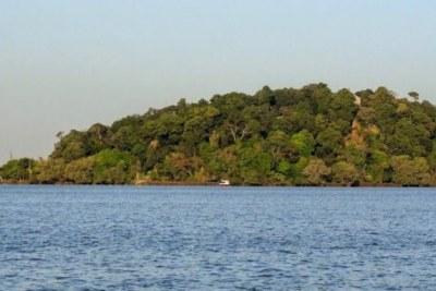 A pristine view of one of the island monasteries of Lake Tana.