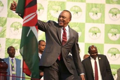 President Uhuru Kenyatta (file photo)