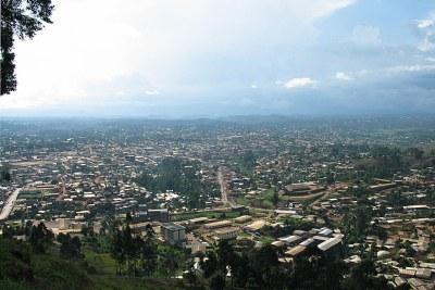 Bamenda ville du nord ouest au Cameroun épicentre de la crise anglophone.