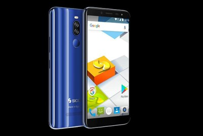 Promotional image of the Nile X smartphone produced by Sico.