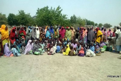Rescued Boko Haram captives