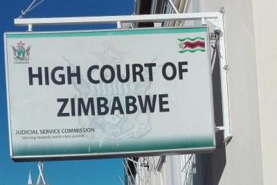 High Court of Zimbabwe.