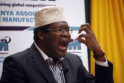Lawyer Miguna Miguna.