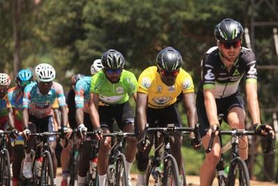 Tour du Rwanda cyclists (file photo).