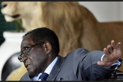 Former president Robert Mugabe (file photo).