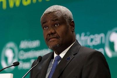 Moussa Faki Mahamat, Président de la Commission de l'UA