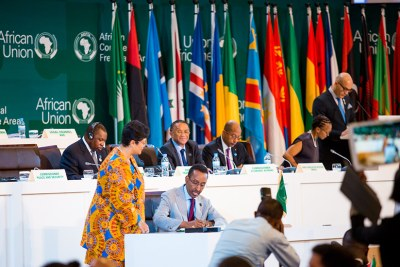 Forty-four countries signed the African Continental Free Trade Area, 43 inked the Kigali Declaration, while 27 countries adopted the protocol on free movement of persons.