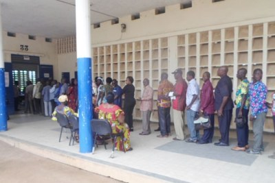 Elections in Ivory Coast (file photo).