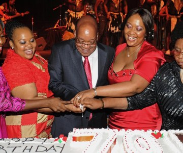 How is Zuma Celebrating His Birthday?