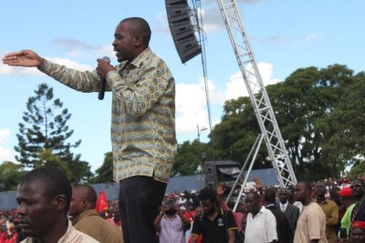 MDC-T leader Nelson Chamisa.