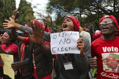A previous MDC Alliance demonstration (file photo).