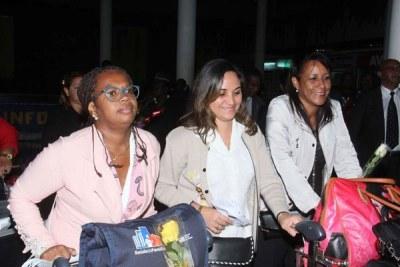 Arrivée de médecins cubains au Kenya.