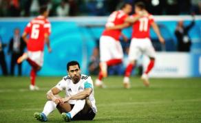 L'Egypte quitte le Mondial 2018 sans la moindre victoire