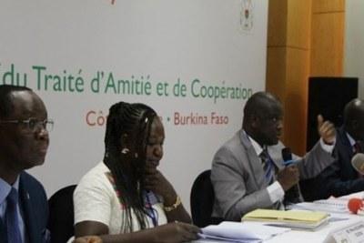 Coopération ivoiro-burkinabè: Les experts planchent sur le contenu du TAC 7
