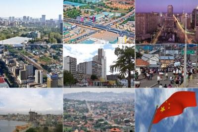 Tshwane, South Africa, Dar es Salaam, Harare, Lusaka, Maputo, DR Congo, Luanda, Kampala
