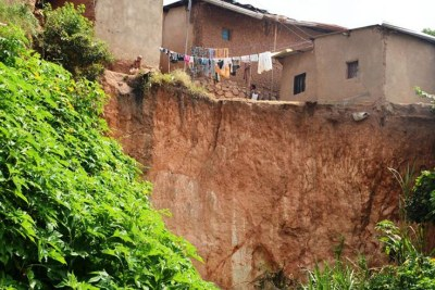 Kigali City plans to relocate people living in high risk zones.