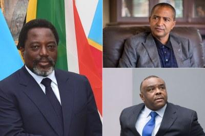 Joseph Kabila Président de la RDC , Moïse Katumbi leader du parti politique