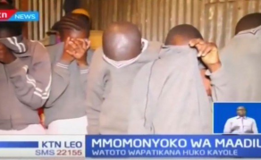 Kenyan Primary School Pupils Busted for Under-Age Sex