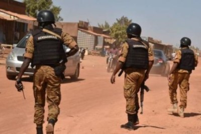 Gendarmes in Burkina Faso
