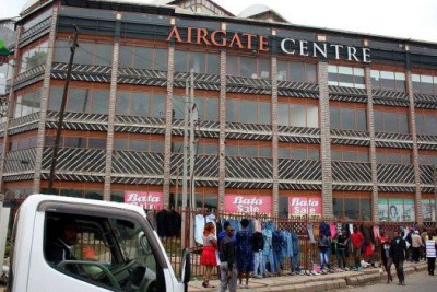 The Airgate Centre, formerly Taj Mall, situated along North Airport Road.
