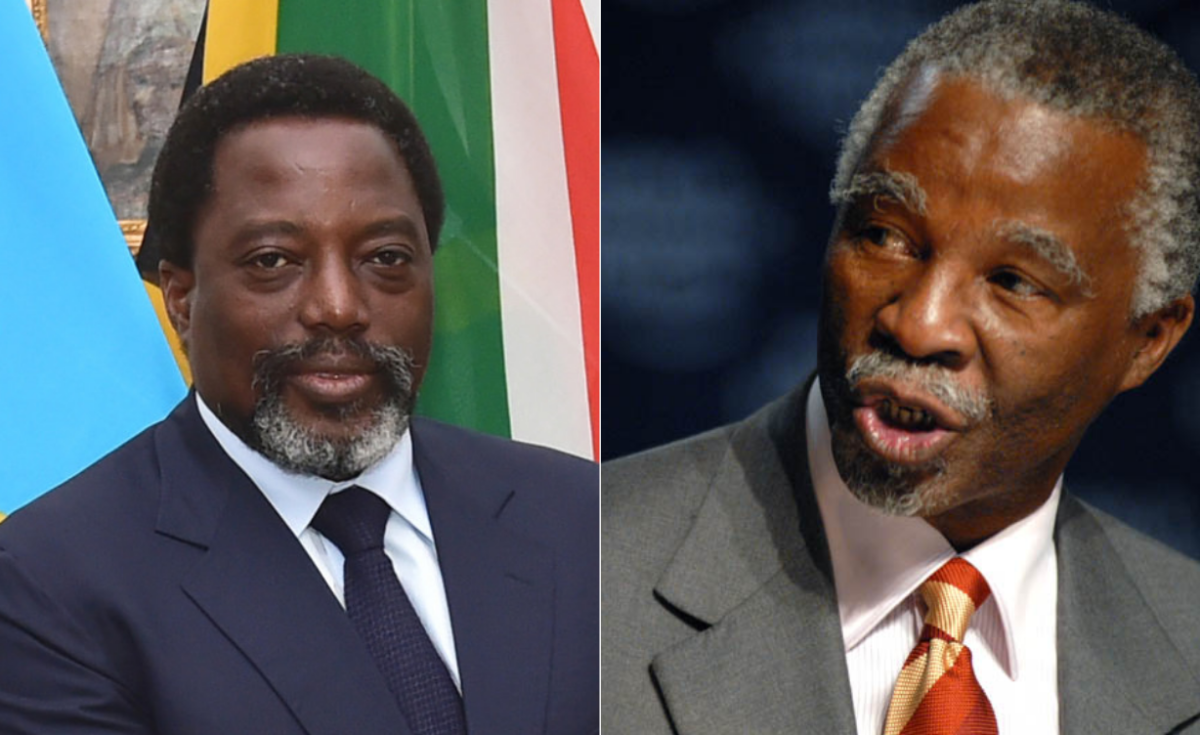 DR Congo Rejects Thabo Mbeki As Special Envoy