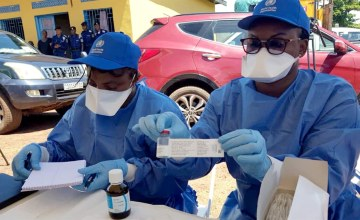WHO Changes DR Congo Ebola Vaccination Strategy