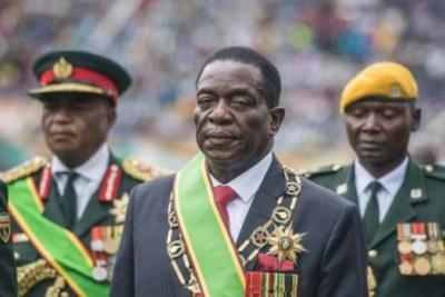 Investiture de Emerson Mnangagwa