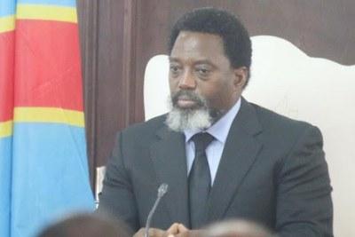 Joseph Kabila, Président de la République Démocratique du Congo