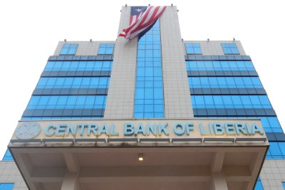 The Central Bank of Liberia building.