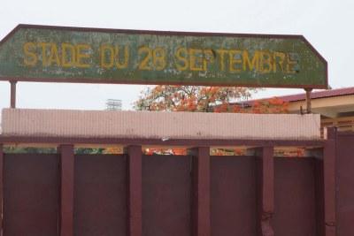 Le stade du 28-Septembre à Conakry accueille les célébrations d'anniversaire du pays.