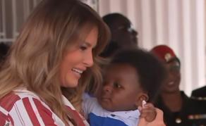 U.S. First Lady Melania Trump Begins Africa Visit in Ghana