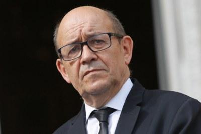 Jean-Yves Le Drian, ministre des Affaires étrangères de la France
