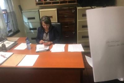 Former Cape Town mayor Patricia de Lille.