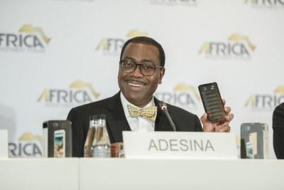 Akinwumi Adesina, président de la Banque africaine de développement depuis le 28 mai 2015.