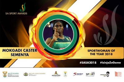 Caster Semenya won Sports Star of the Year, Sportswoman of the Year, and the People's Choice Award. Her coach Samuel Sepeng won Coach of the Year.