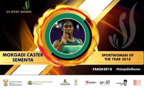 Caster Semenya Steals the Show at South Africa Sports Awards 2018