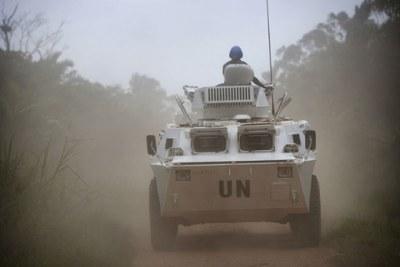 Peacekeepers in Beni territory, North Kivu.(file photo)