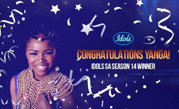 Yanga Sobetwa Wins Idols South Africa