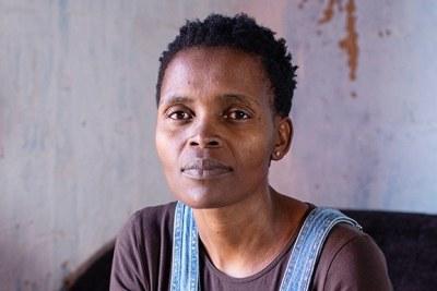 Wild Coast anti-mining activist Nonhle Mbuthuma.