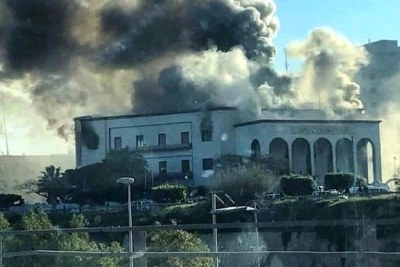Bombings in Tripoli (file photo).