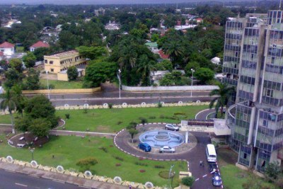 Centre de la capitale de Brazzaville