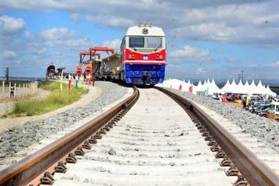 The standard gauge railway project.