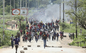 Police, Protesters Clash In Zimbabwe Shutdown Protests