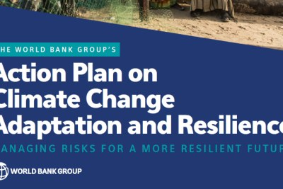 World Bank Action Plan on Adaptation & Resilience.