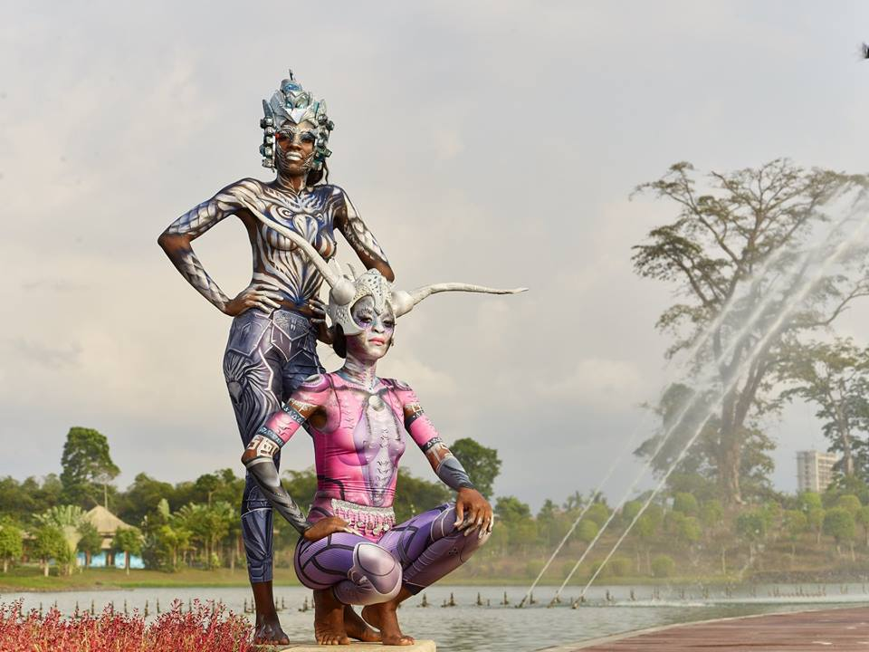PhotoEssay » Body Painting Artists Show Off Their Amazing Artistry in Equatorial Guinea