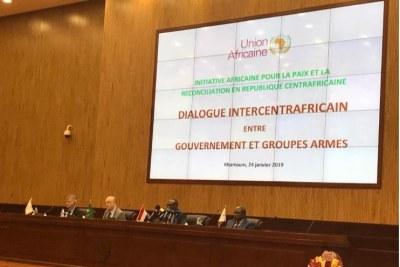 Ouverture du dialogue de paix à Khartoum