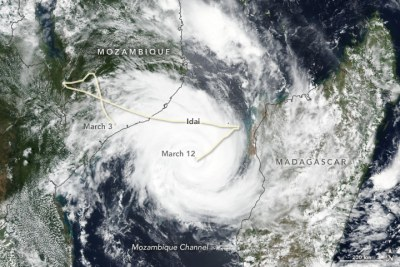 Tropical Cyclone Idai on March 13, 2019.