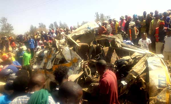 Kenya: 12 killed in Kikopey Road Crash