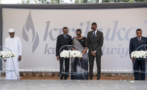 Rwandans Mark 25th Anniversary of 1994 Genocide
