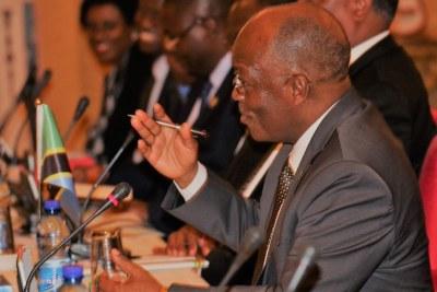 Tanzania president John Magufuli in Malawi.